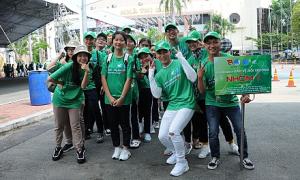 Hàng nghìn bạn trẻ tham gia sự kiện bảo vệ môi trường