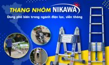 Thang nhôm Nikawa được sử dụng nhiều trong điện lực, viễn thông