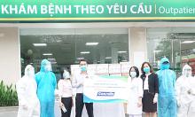 CPC1 Hà Nội tặng Bệnh viện Bạch Mai 10.000 chai gel khô sát khuẩn