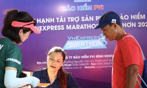 Bảo hiểm PVI đồng hành VnExpress Marathon Quy Nhơn 2020
