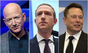 Các tỷ phú công nghệ bị chỉ trích vì giàu nhanh