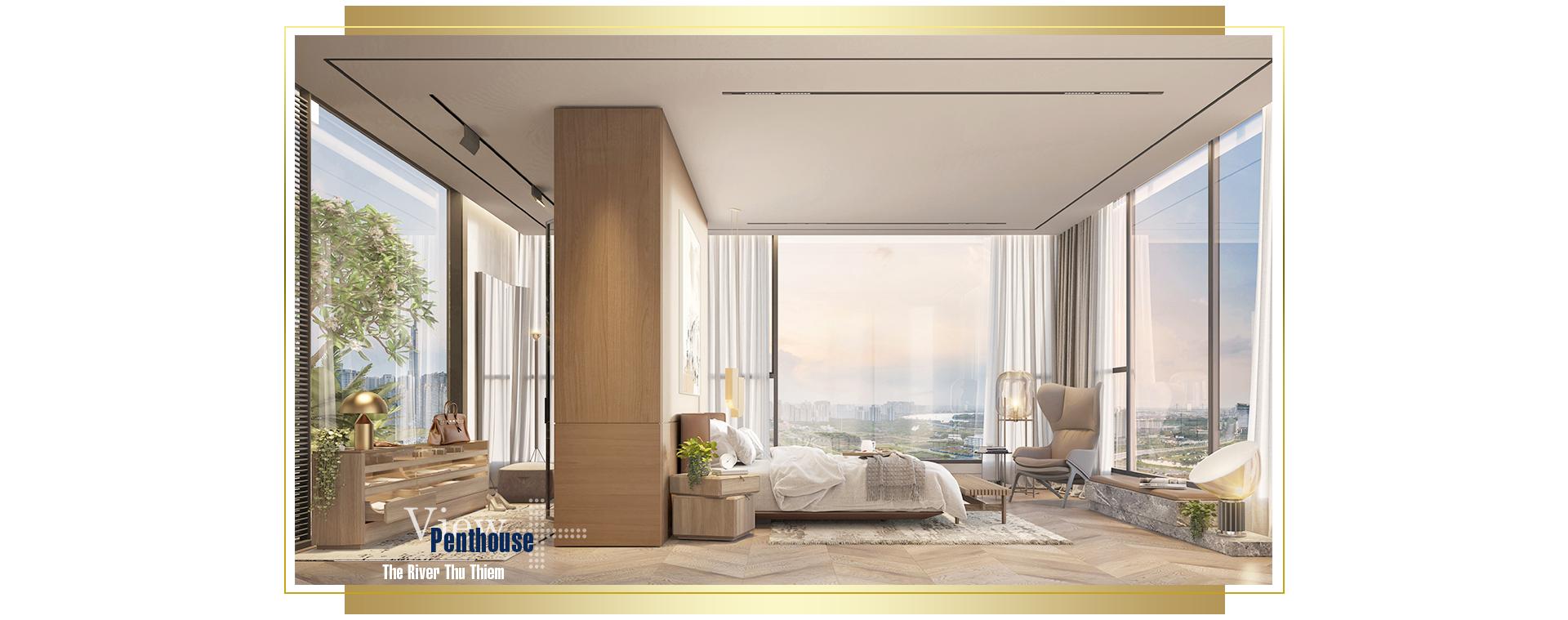 Trải nghiệm khác biệt tại penthouse ven sông Sài Gòn 5