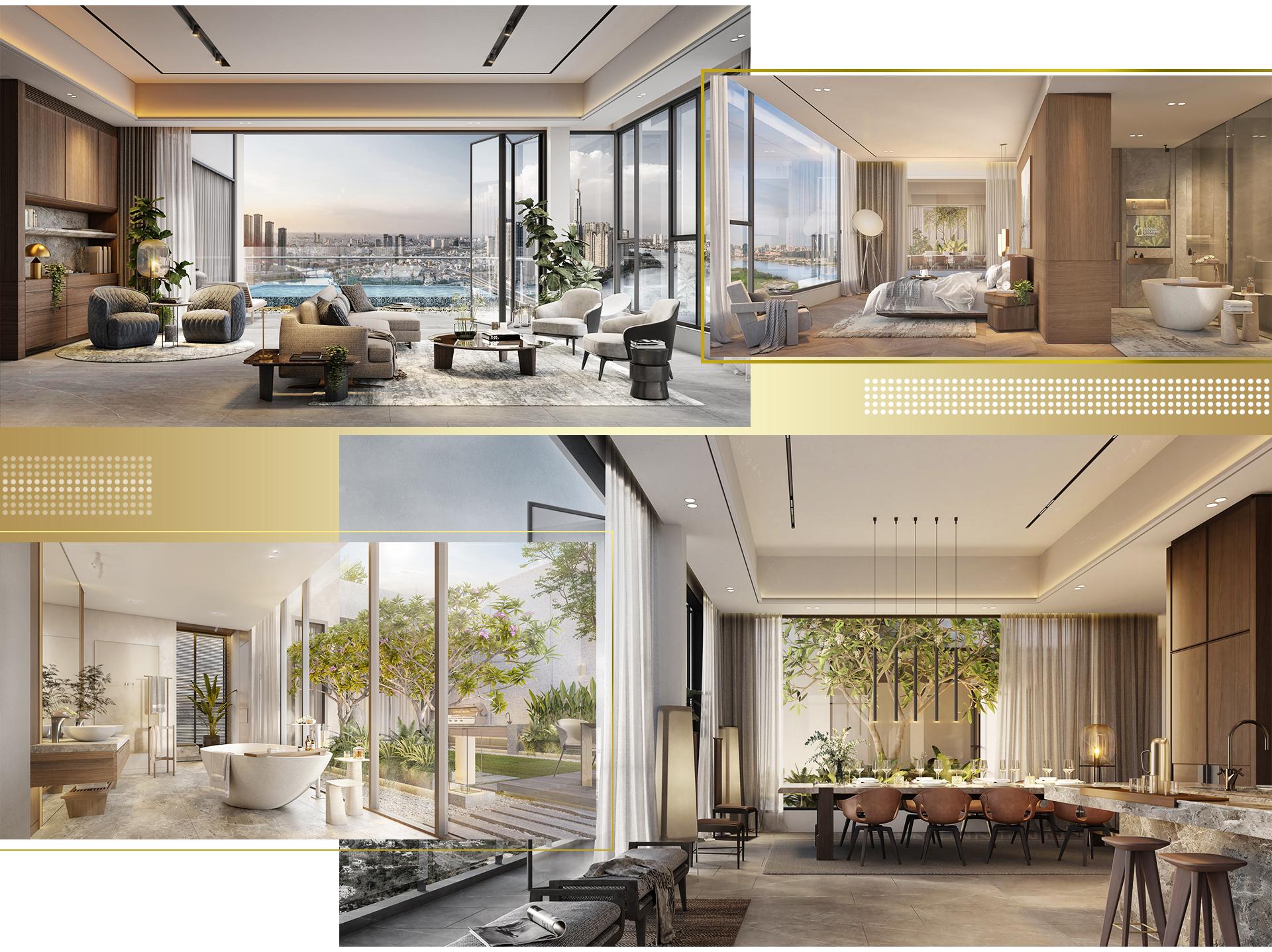 Trải nghiệm khác biệt tại penthouse ven sông Sài Gòn 8