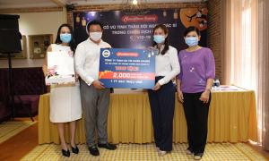 Sweethome Bakery tặng 2.000 hộp bánh trung thu cho đội ngũ chống dịch
