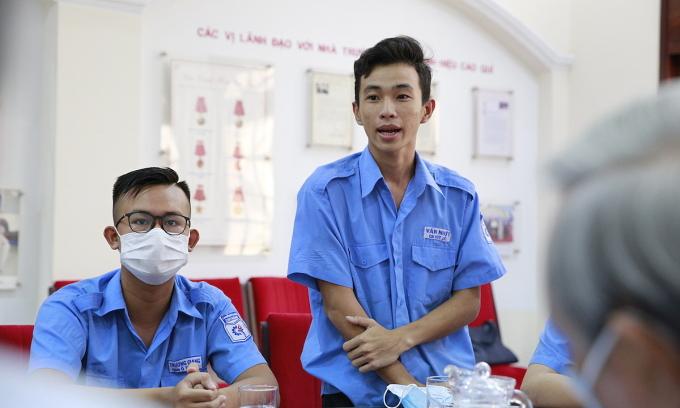 Sinh viên Cao đẳng Kỹ thuật Cao Thắng nhận học bổng Lawrence S. Ting