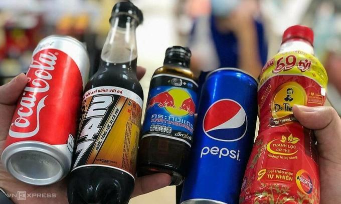 Các đại gia đồ uống không cồn thu tỷ USD ở Việt Nam