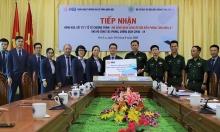 MB tặng gói vật tư y tế cho bộ đội biên phòng Sơn La