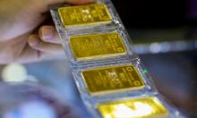 Giá vàng miếng xuống 55 triệu đồng