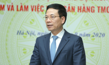 Bộ trưởng Nguyễn Mạnh Hùng: Muốn số hoá, ngân hàng phải bớt ngại đối thủ