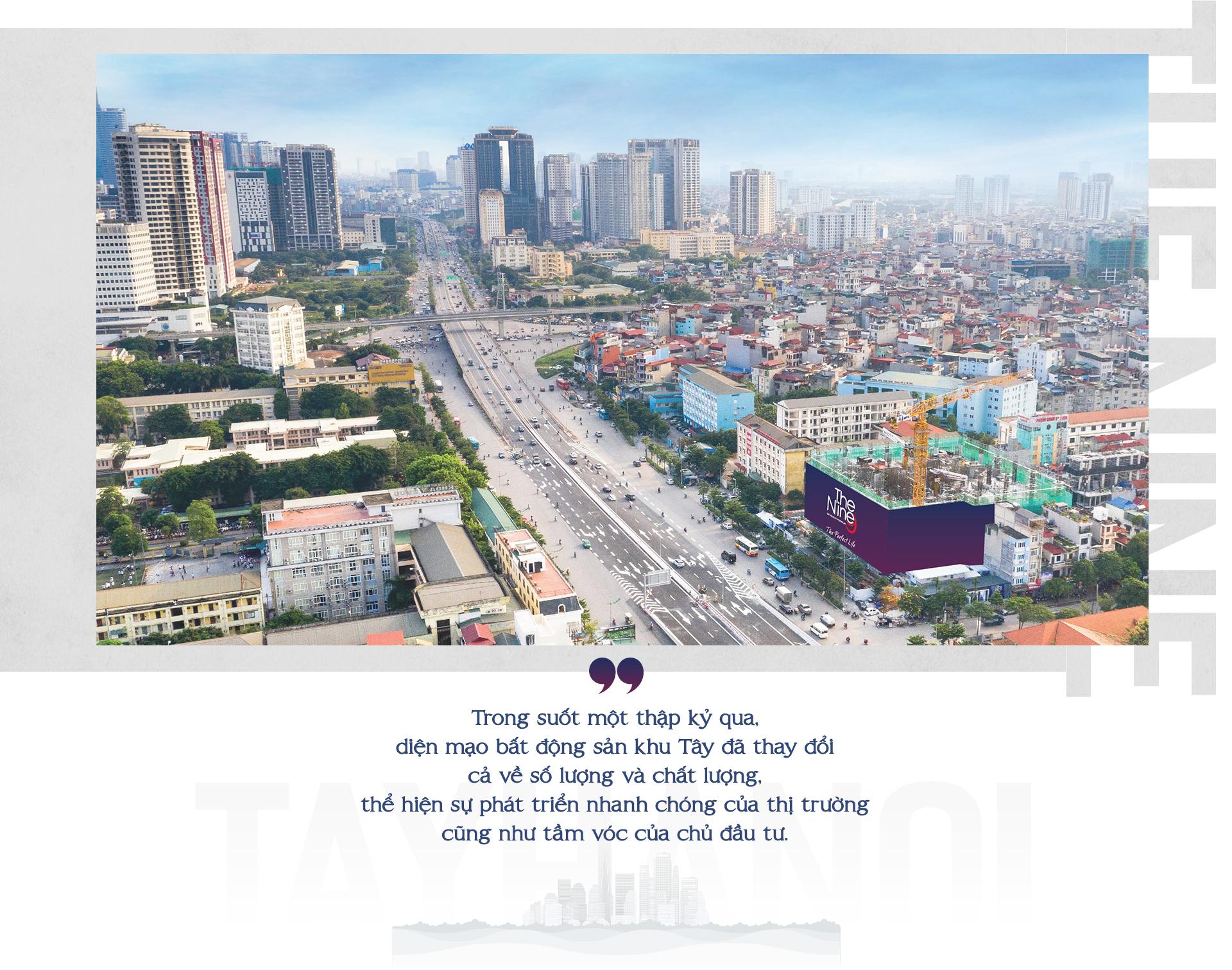 Bộ mặt mới bất động sản Tây Hà Nội sau một thập kỷ 3
