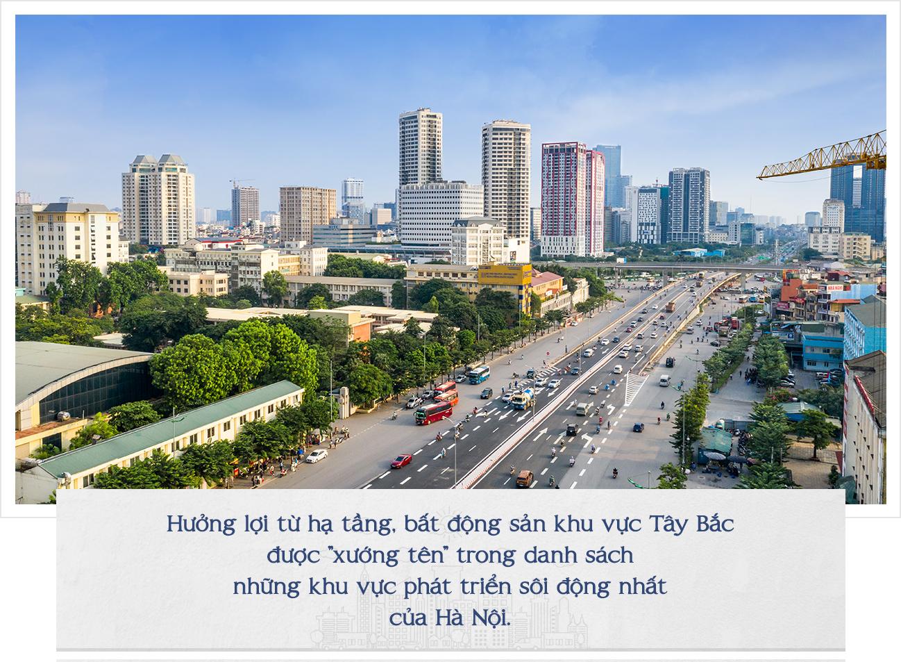 Bộ mặt mới bất động sản Tây Hà Nội sau một thập kỷ 6