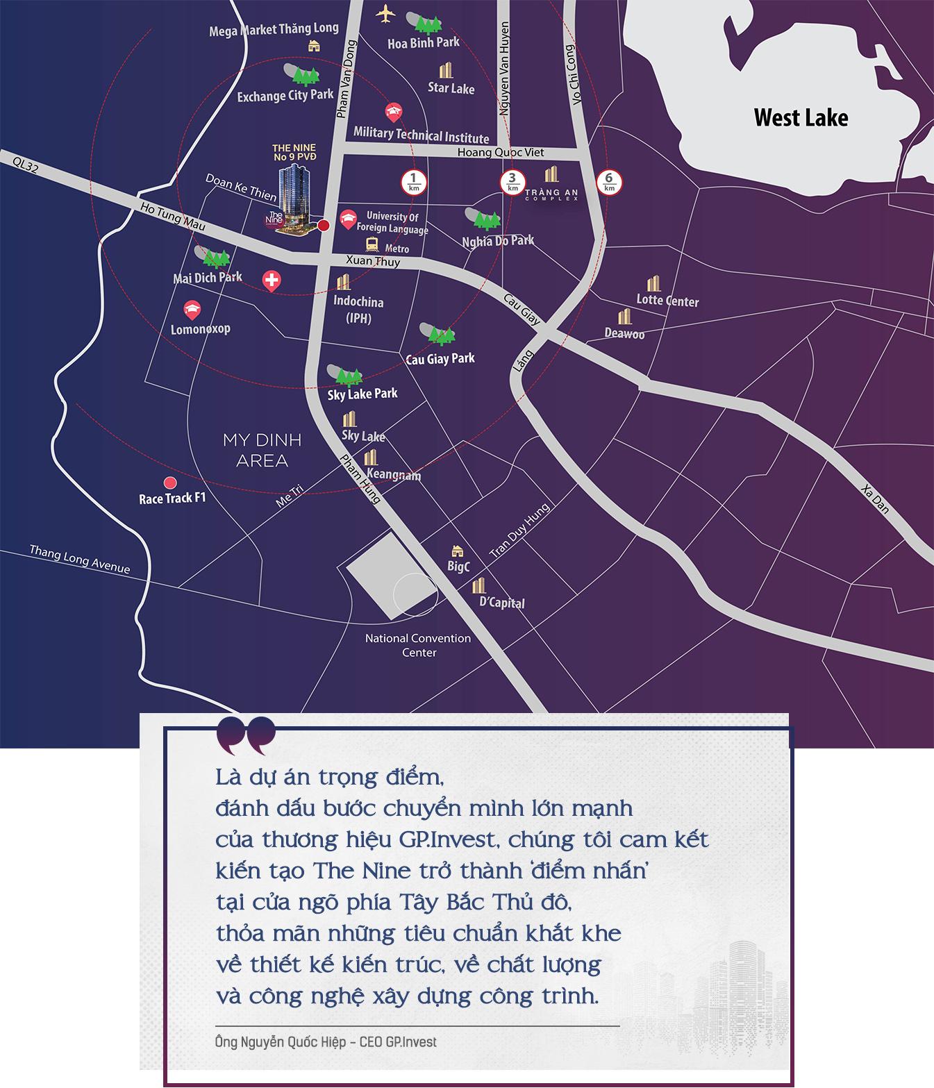 Bộ mặt mới bất động sản Tây Hà Nội sau một thập kỷ 9