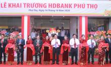 HDBank khai trương chi nhánh Phú Thọ