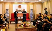 CityLand tặng 3.000 võng cho bộ đội biên phòng