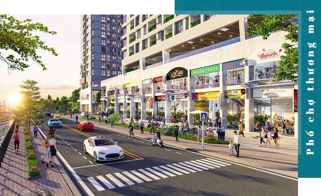 Phố thương mại 'một điểm đến' tạo sức hút cho dự án căn hộ 7