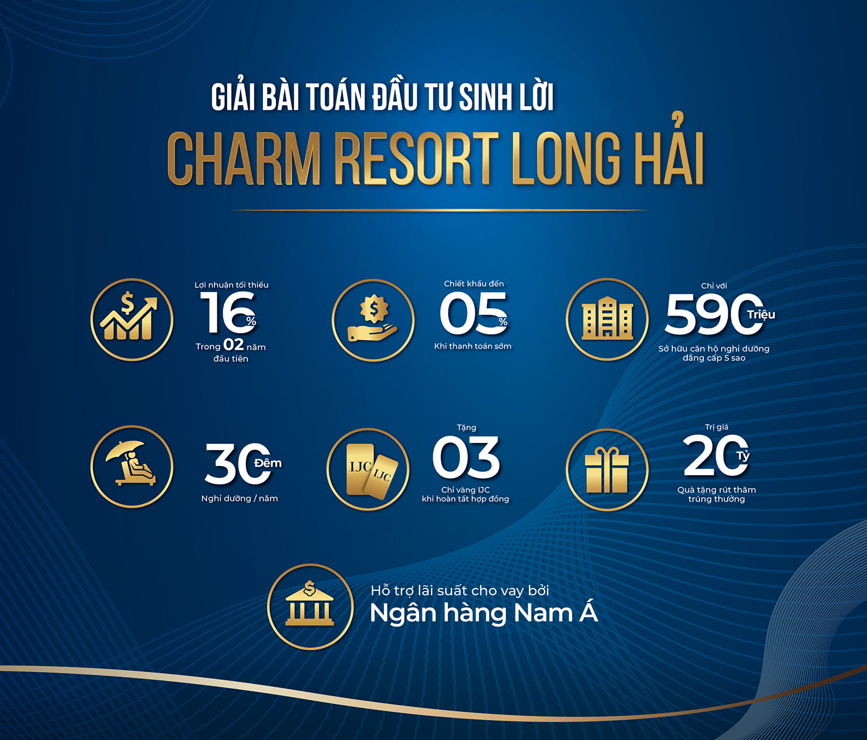 Căn hộ nghỉ dưỡng mang trải nghiệm khác biệt tại Charm Resort Long Hải 10