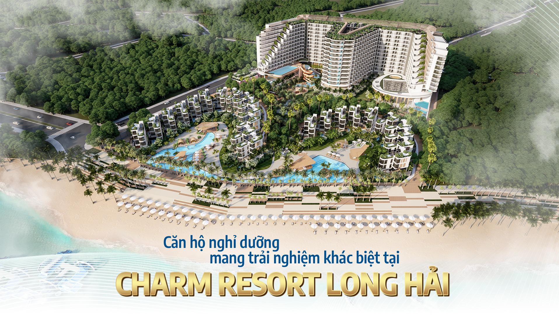 Căn hộ nghỉ dưỡng mang trải nghiệm khác biệt tại Charm Resort Long Hải 1