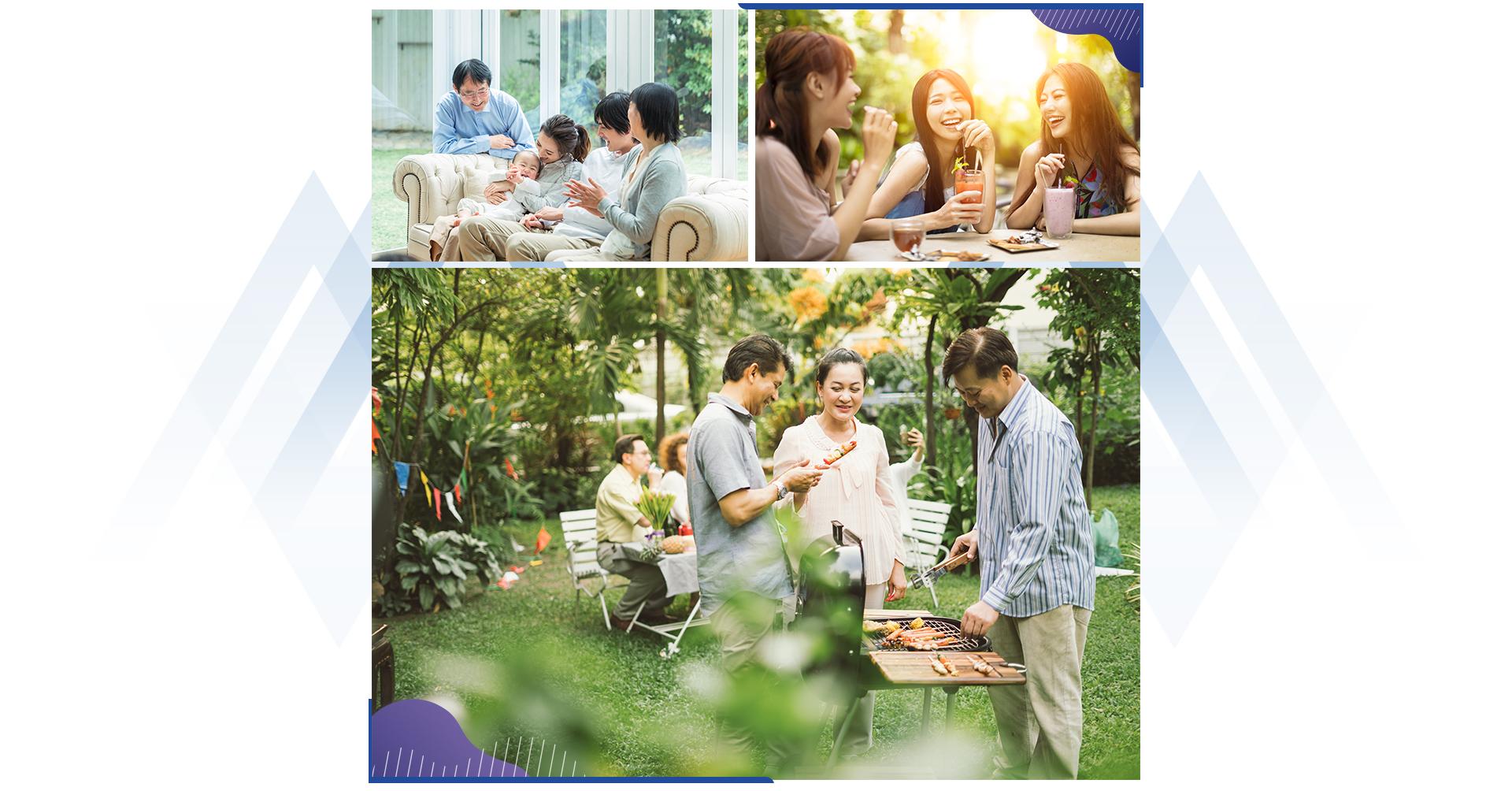 The Ambi tạo không gian sống cho gia đình ba thế hệ 3
