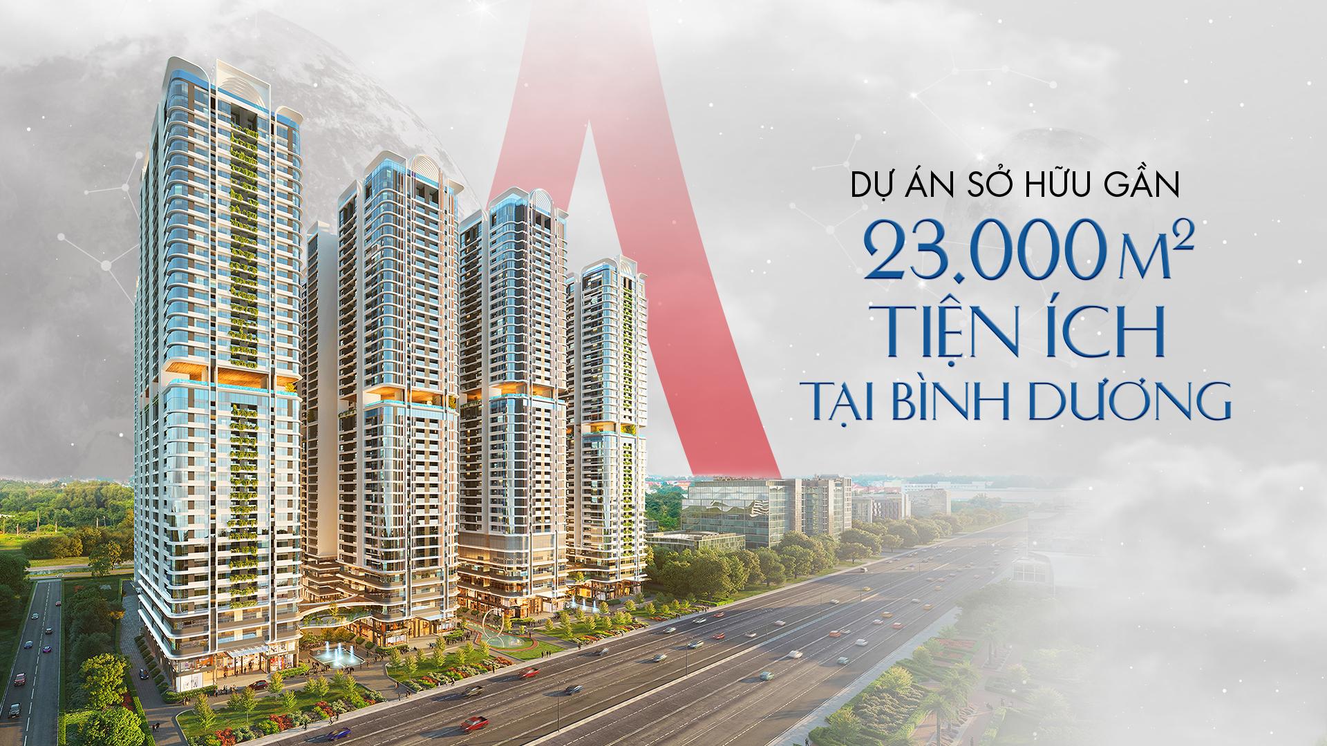 Dự án căn hộ sở hữu gần 23.000 m2 tiện ích tại Bình Dương 1