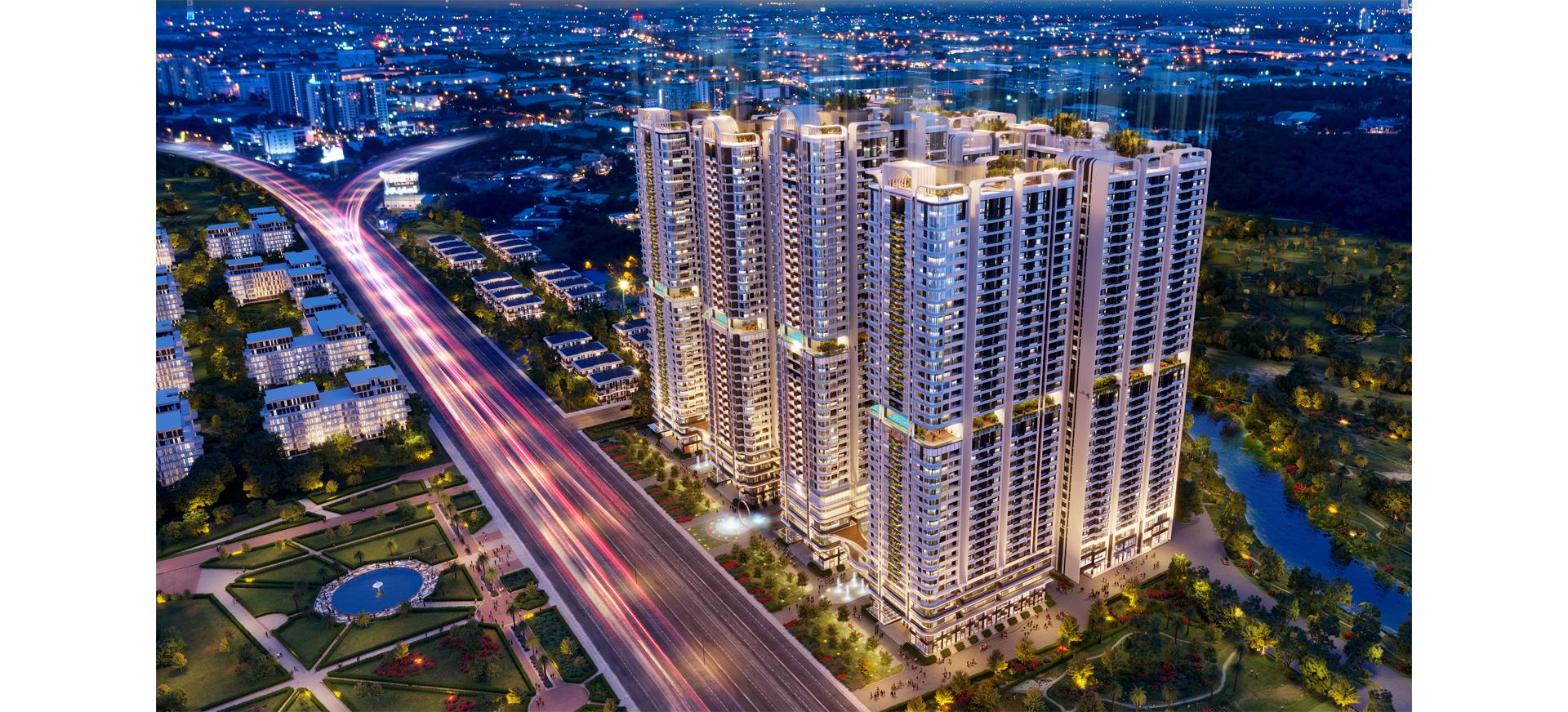 Dự án căn hộ sở hữu gần 23.000 m2 tiện ích tại Bình Dương 4