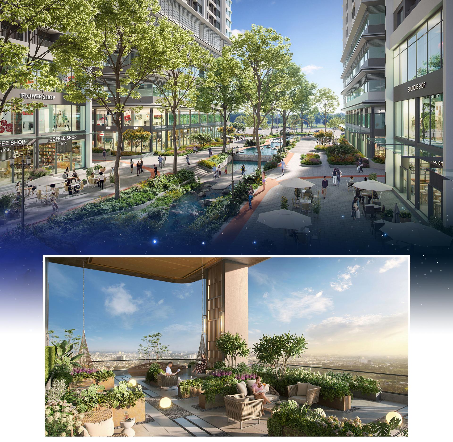 Dự án căn hộ sở hữu gần 23.000 m2 tiện ích tại Bình Dương 5