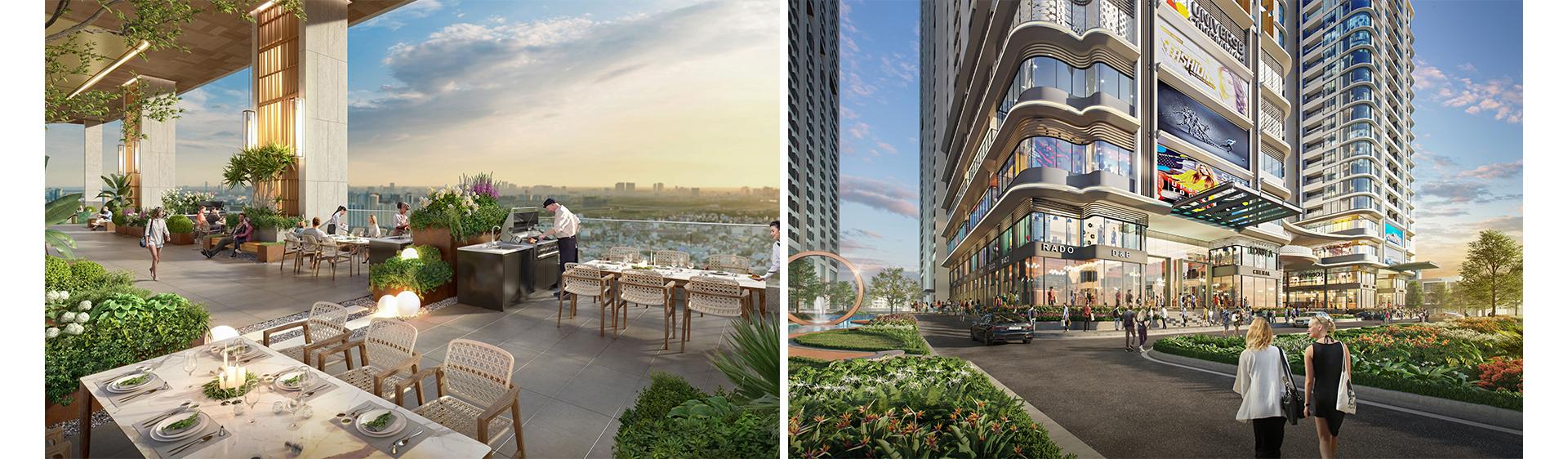 Dự án căn hộ sở hữu gần 23.000 m2 tiện ích tại Bình Dương 7