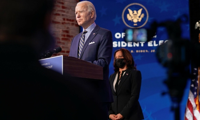 Thách thức kinh tế chờ đón Joe Biden
