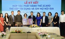 Napas hợp tác VietinBank phát hành thẻ chip nội địa 2Card
