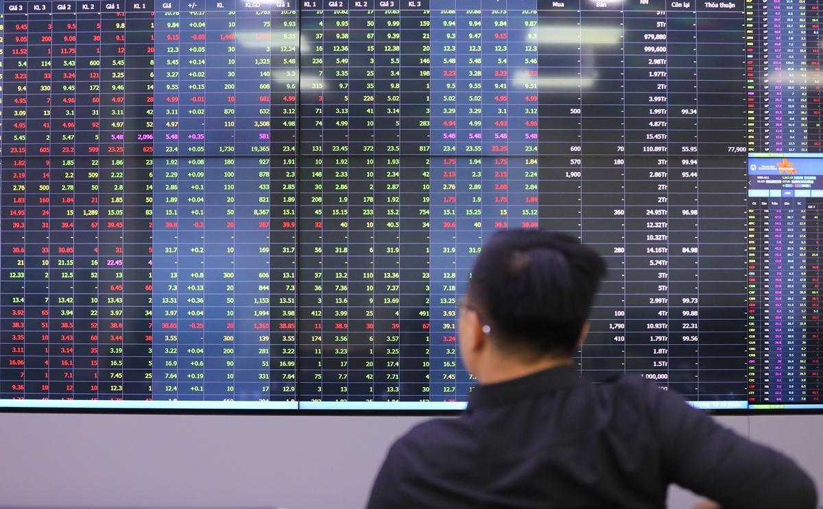 Cổ phiếu Hòa Phát, Vinhomes kéo VN-Index tăng mạnh