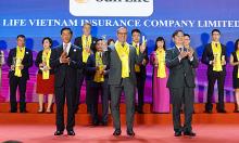 Sun Life Việt Nam nhận giải Rồng Vàng 2021