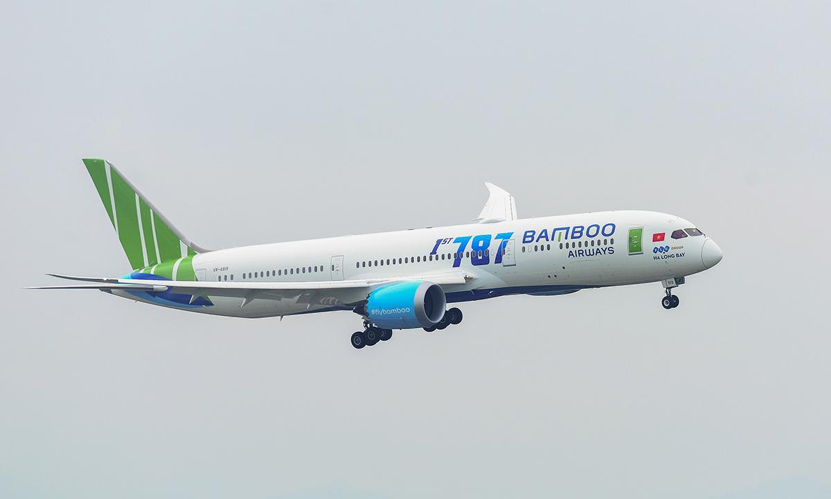 Bamboo Airways được cấp slot bay thường lệ đến Mỹ