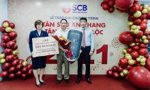 SCB trao giải 354 giải 'Tân Sửu an khang - Tân niên vạn lộc'