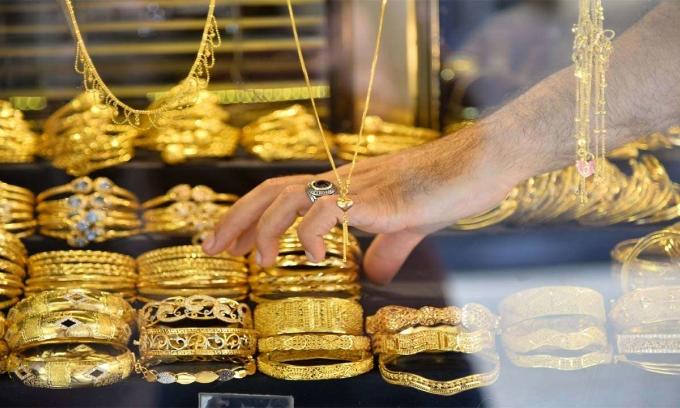 Giá vàng tăng liên tiếp 3 tuần