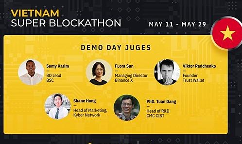 Top 15 đội lập trình viên thắng giải 25.000 USD tại Vietnam Super Blockathon
