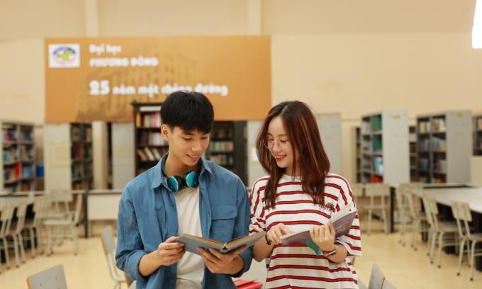 Đại học Phương Đông xét tuyển bằng điểm học bạ THPT