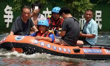 Lũ lụt gây thiệt hại tới công ty bảo hiểm Trung Quốc