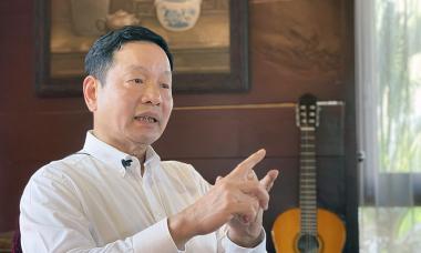 Ông Trương Gia Bình: 'Doanh nghiệp Việt rất cần giải pháp như vaccine'