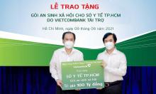 Vietcombank tặng Sở Y tế TP HCM gói an sinh xã hội 100 tỷ đồng