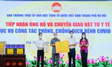 T&T Group tặng Hà Nội một triệu kit xét nghiệm RT- PCR