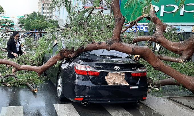 Ôtô bị thiệt hại do thiên tai được bồi thường bảo hiểm không?